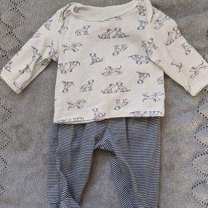 Baby Blue Puppy outfit